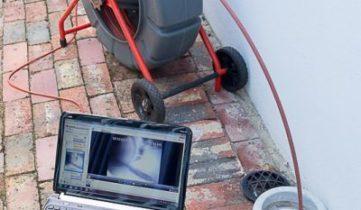 Επιθεώρηση αποχέτευσης με κάμερα στο Περιστερι